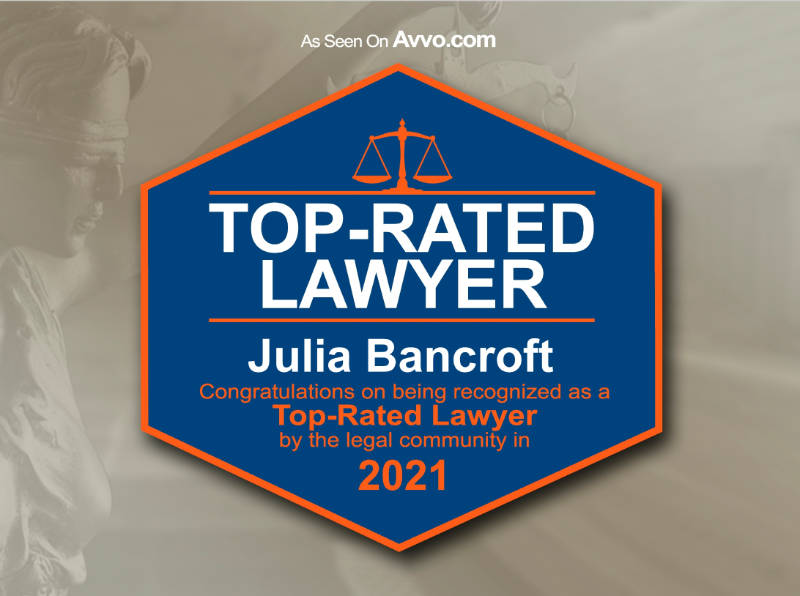 Avvo Top Rated Lawyer 2021